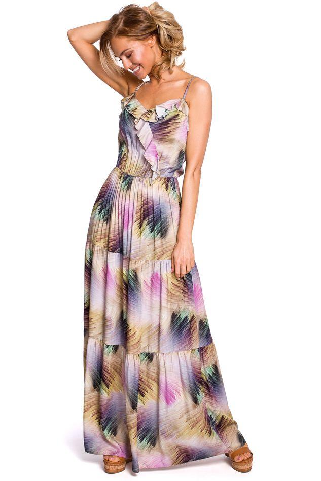 Mulitcolor Maxi Dress